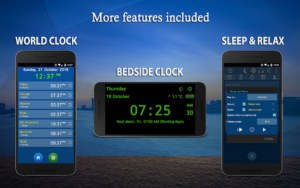 تصویر محیط Alarm Clock & Timer & Stopwatch & Tasks & Contacts v6.6 build 223