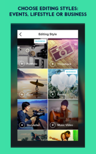 تصویر محیط Magisto – Video Editor & Music Slideshow Maker v4.52.1.19660