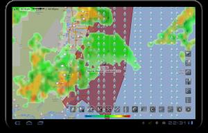 تصویر محیط eWeather HD – weather, hurricanes, alerts, radar v8.1.0