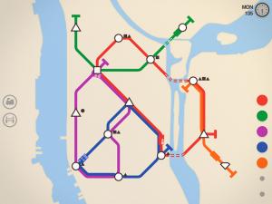 تصویر محیط Mini Metro v2.46.1