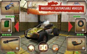 تصویر محیط Zombie Derby v1.1.42