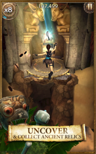 تصویر محیط Lara Croft: Relic Run v1.11.112 + data