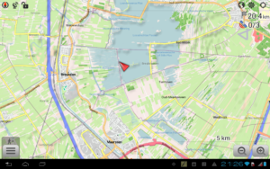 تصویر محیط Maps & GPS Navigation OsmAnd + v3.3.8