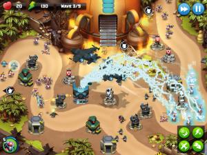 تصویر محیط Alien Creeps TD – Epic tower defense v2.31.0
