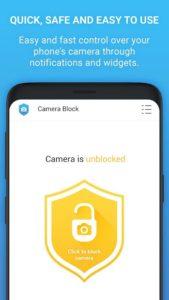 تصویر محیط Camera Block Pro – Anti malware & Anti spyware app v1.72