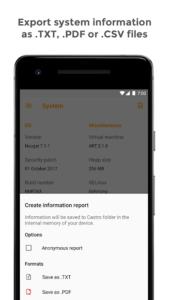 تصویر محیط Castro Premium v3.1 build 119