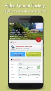 تصویر محیط Video Format Factory Premium v5.2