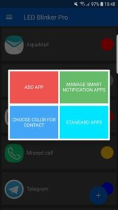 تصویر محیط LED Blinker Notifications Pro – Manage your lights v7.1.5 build 363