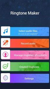 تصویر محیط MP3 Cutter Ringtone Maker Pro v49