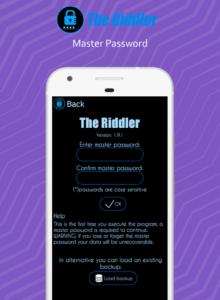 تصویر محیط Password Safe Pro v1.9.992