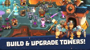 تصویر محیط Castle Creeps TD – Epic tower defense v1.48.1