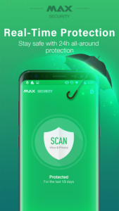 تصویر محیط Virus Cleaner, Antivirus, Cleaner (MAX Security) v2.0.7