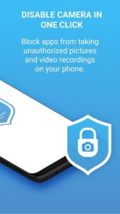تصویر محیط Camera Block Pro – Anti malware & Anti spyware app v1.72
