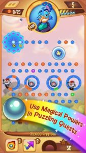 تصویر محیط Peggle Blast v2.22.0