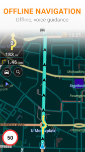 تصویر محیط Maps & GPS Navigation OsmAnd + v3.4.8