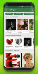تصویر محیط Zap Zap Messenger v72.12