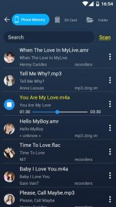 تصویر محیط MP3 Cutter Ringtone Maker Pro v52