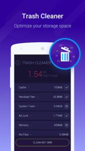 تصویر محیط Cache Cleaner-DU Speed Booster (booster & cleaner) v3.1.7.1