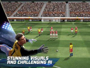 تصویر محیط Real Football v1.7.1