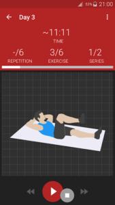 تصویر محیط Abs workout PRO v9.19.4