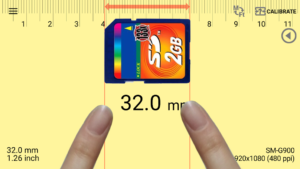 تصویر محیط Smart Ruler Pro v2.6.9
