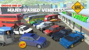 تصویر محیط Car Driving School Simulator v3.2.0 + data