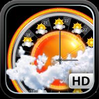 نرم افزار پیش بینی آب و هوا همراه با نمودار آب و هوایی آیکون
