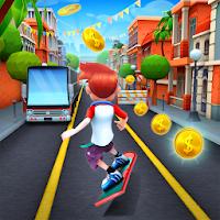 بازی دویدن در مسیر اتوبوس آیکون
