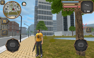 تصویر محیط City theft simulator v1.1