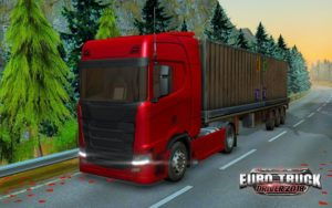 تصویر محیط Euro Truck Driver 2018 v2.2 + data