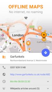 تصویر محیط Maps & GPS Navigation OsmAnd + v3.8.1