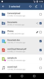 تصویر محیط ownCloud v2.10.0
