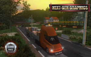 تصویر محیط Euro Truck Evolution (Simulator) v2.5.0 + data