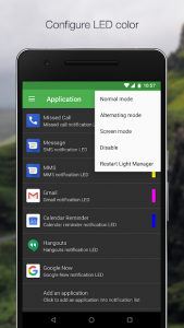 تصویر محیط Light Manager 2 – LED Settings v14.0.1