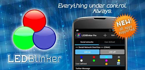 LED Blinker Notifications Pro – Manage your lights v7.1.4 build 360