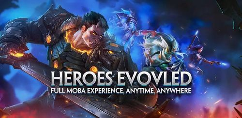 Heroes Evolved v1.1.31.0 + data