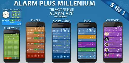 Alarm Clock & Timer & Stopwatch & Tasks & Contacts v6.4 build 168
