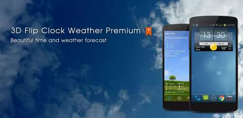 3D Flip Clock & Weather Pro v5.20.05
