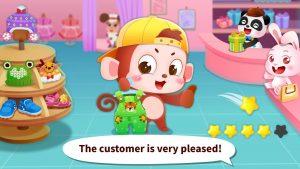 تصویر محیط Baby Panda's Fashion Dress Up Game v8.33.00.00
