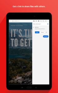تصویر محیط Adobe Acrobat Reader v19.4.0