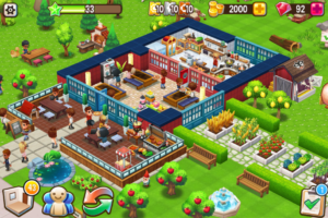 تصویر محیط Food Street – Restaurant Management & Cooking Game v0.52.5 + data