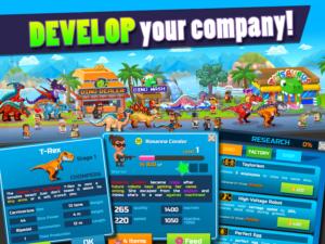 تصویر محیط Dino Factory v1.3.3