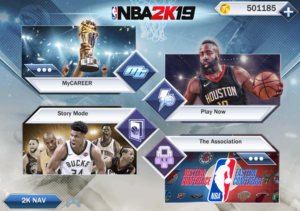 تصویر محیط NBA 2K19 v52.0.1 + data