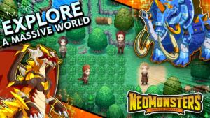 تصویر محیط Neo Monsters v2.6