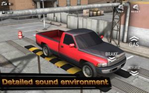تصویر محیط Backyard Parking 3D v1.65