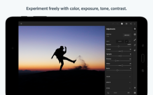 تصویر محیط Adobe Photoshop Light room CC v4.4.2