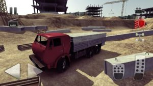 تصویر محیط Truck Driver crazy road v2.0.06+ data