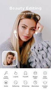 تصویر محیط Candy Camera – selfie, beauty camera, photo editor v5.4.57