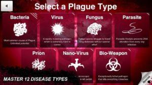 تصویر محیط Plague Inc . v1.16.3