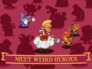تصویر محیط Semi Heroes: Idle & Clicker Adventure – RPG Tycoon v1.0.7